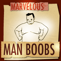 The Moobie Dance - Marvelous Man Boobs